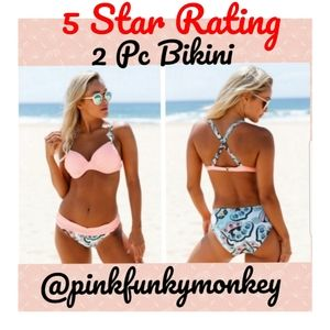 Other - New Pink Push-up Bikini Set